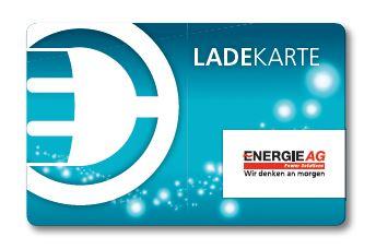 Energie AG Ladekarte